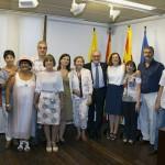 Recepció als professors que s'han jubilat a Vila-seca