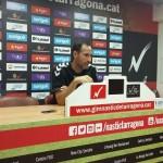 Vicente Moreno: 'No em sento inferior a cap equip de segona A'