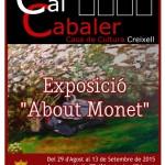 Creixell inaugura l'exposició de Pintura «About Monet»