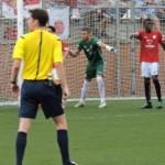 Alberto Varo atura un penal i aconsegueix el gol de l'empat en la darrera jugada