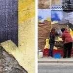 La Capsa Ambulant d'Artistes presenta Polígon Cultural en la seva vuitena acció pública