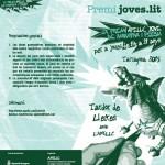 Menys d'un mes per participar al premi Joves.lit