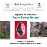El pintor cubà Pierre Bernet Ferrand exposa a la Sala Lluís d'Icart