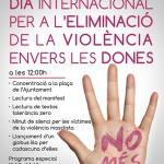 Roda de Berà condemnarà la violència masclista amb un acte institucional