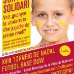 El CF La Pobla celebra la XVIII edició del Torneig de Nadal de Futbol Base Dow