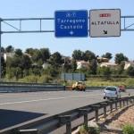 Afeccions de trànsit per treballs de conservació a la N-340 a Torredembarra i la Riera de Gaià