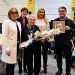 La rodenca Paulina Acosta rep la Medalla Centenària