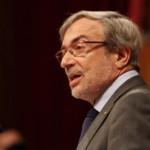 Xavier Sabaté canta per Forcadell i obre la porta a presentar-se a les municipales a Flix