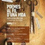 El dilluns 4 d'abril s'inauguraran les IV Jornades literàries a l'Hospitalet de l'Infant