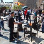 Prop de 50 paradistes a la Fira Medieval de Creixell
