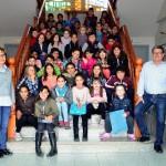 Els alumnes de tercer curs de l'escola Salvador Espriu visiten l'Ajuntament