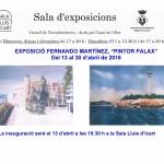 Exposició d'obres del 'Pintor Palax', a la Sala Lluís d'Icart de Torredembarra