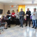 Per Sant Jordi, Creixell i el Consell Comarcal comparteixen lectures amb la gent gran