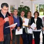 El Consell Comarcal i l'Ajuntament de Roda comparteixen lectures amb la gent gran