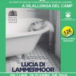 Dilluns 25 d'abril nova edició de les retransmissions d'òpera en directe a Vilallonga del Camp