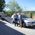 El Consell Comarcal presta serveis de retirada de vehicles