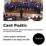 El Morell celebra un recital de cant poètic