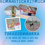 Final de la Copa Catalana de Gimnàstica Rítmica, aquest dissabte a Torredembarra