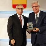 L'alcalde i el president del COE refermen l'aposta per als Jocs del 2017 a un any de la inauguració