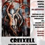 Creixell celebra aquest cap de setmana la fira d'art al carrer