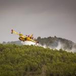 Controlat l'incendi de la Pobla de Montornès després de cremar més de 460 hectàrees