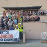 Protesta per l'acomiadament 'injustificat' d'un treballador d'Endesa