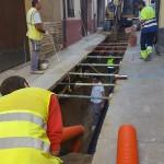 Riudecanyes segueix el pla de remodelació del nucli urbà amb la reforma del carrer Dilluns