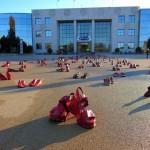 Els municipis del Tarragonès i el Baix Camp s'omplen d'actes originals en la protesta del 25-N