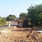 Comencen els treballs per adequar l'accés viari de la Pobla de Montornès