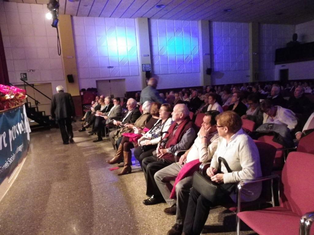 Imatge del públic assistent a la Trobada de Corals d'Associacions de Gent Gran de Tarragonès. Foto: Romà Rofes / Tarragona21.cat