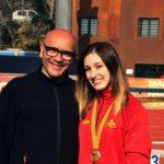Belén Bermejo, del Nàstic, campiona de Catalunya Junior de llançament de martell