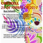 Creixell celebra el dia 25 el Carnaval amb dues rues
