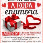 Torna la campanya de Sant Valentí 'Comprar a Roda enamora'
