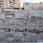 Les obres al Teatre Romà posen al descobert edificis que existien abans