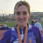 La creixellenca Antonia Royo (CA Tarragona), campiona de Catalunya de 10.000 metres llisos