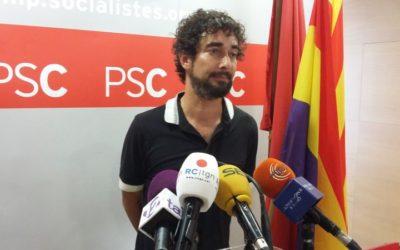 Castillo anuncia que deixarà l'escó de diputat al pròxim plenari després de donar-se de baixa del PSC