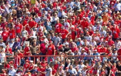 Argimon afirma que «no és el moment més idoni» per plantejar el retorn de públic als estadis de futbol