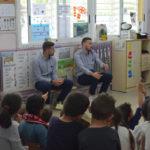 L' Escola La Canonja rep a Xavi Molina i Dimitrievski