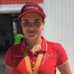 Èlia Canales, del Club de Tir amb Arc Constantí, campiona de Catalunya amb rècord