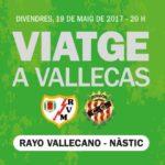 El Nàstic no vol estar sol a Vallecas