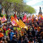 'És hora de passar de les trinxeres al contraatac': l'1 de maig reuneix més de 1.500 manifestants a Tarragona