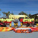 Salou obre poly-klyns a les platges de Llevant i Ponent i punt de salvament a Cala Crancs