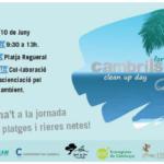Cambrils se suma dissabte a l'Europe Clean Up Day amb una jornada popular de neteja a la Platja del Regueral