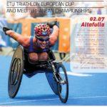 Altafulla esdevé aquest diumenge capital mundial del Triatló per a discapacitats