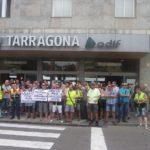 Els agents de vigilància privada es concentren a Tarragona farts de ser els «indigents de la seguretat»