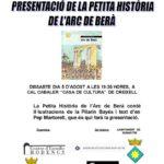 Creixell presenta la història de l'Arc de Berà de Pilarín Bayés i Pep Martorell