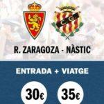 'Marea Grana' per al partit a Saragossa