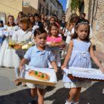 Creixell compleix amb la tradició de la Processó del Pa Beneït