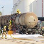 VOPAK Terquimsa i el Port de Tarragona realitzen amb èxit un simulacre d'emergència en cas de sabotatge