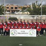 Presentació de totes les categories del Club de Futbol Base dels Pallaresos al Camp Municipal de Futbol